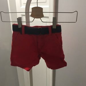Gymboree Baby Boy Red Shorts